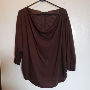 2xl Maurices Brown Blouse